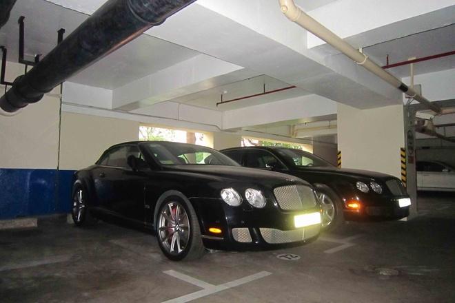Bentley dac biet xuat hien trong ham xe trieu do o Sai Gon hinh anh 1