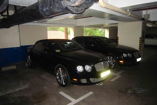 Bentley dac biet xuat hien trong ham xe trieu do o Sai Gon hinh anh 2
