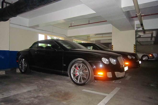Bentley dac biet xuat hien trong ham xe trieu do o Sai Gon hinh anh 3