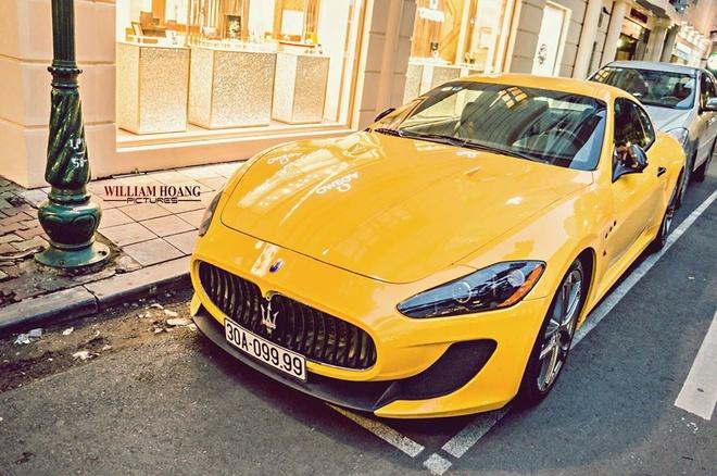 Maserati GranTurismo MC Stradale tu quy doc nhat Viet Nam hinh anh 2