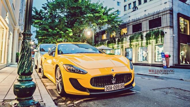 Maserati GranTurismo MC Stradale tu quy doc nhat Viet Nam hinh anh 5
