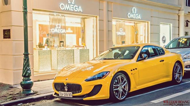 Maserati GranTurismo MC Stradale tu quy doc nhat Viet Nam hinh anh 7