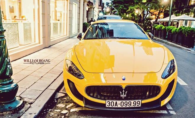Maserati GranTurismo MC Stradale tu quy doc nhat Viet Nam hinh anh 1
