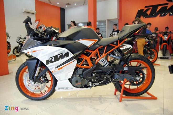 Bo doi sportbike KTM RC200 va RC390 ra mat tai Viet Nam hinh anh 2