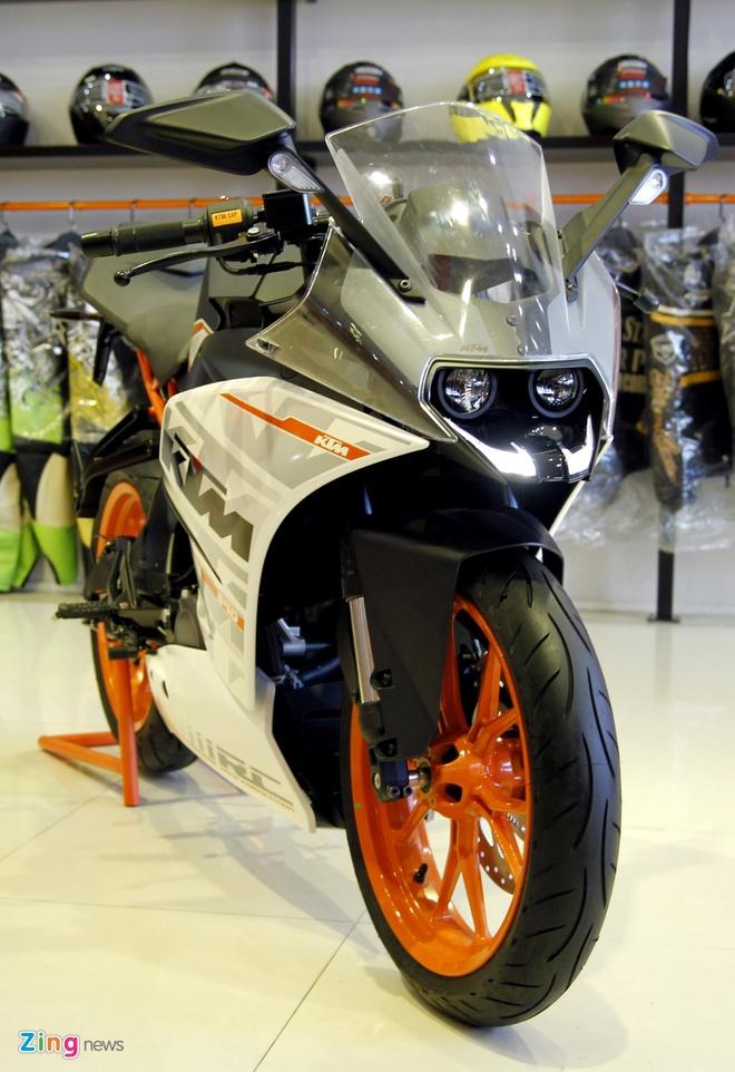 Bo doi sportbike KTM RC200 va RC390 ra mat tai Viet Nam hinh anh 4