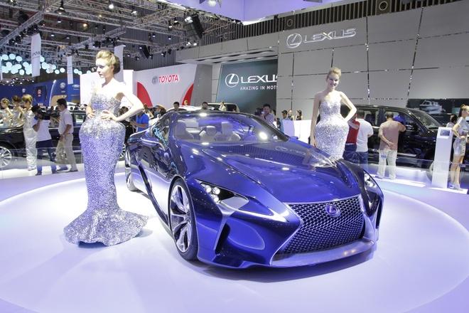 Lexus ven man sieu xe concept LF-LC tai Viet Nam hinh anh