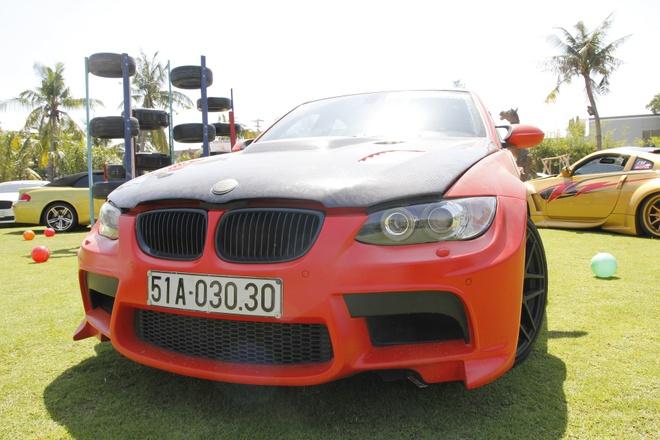 Xe doc BMW M3 Vorsteiner tai Viet Nam hinh anh