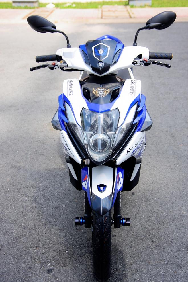 Nouvo SX do phong cach an toan cua biker Dong Nai hinh anh 4