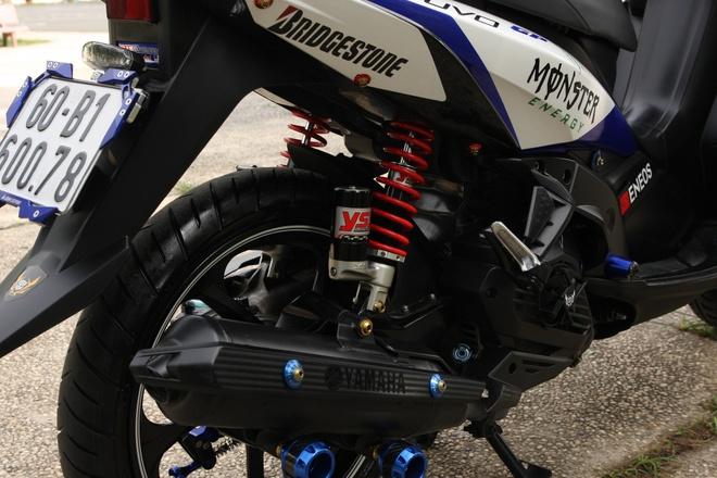 Nouvo SX do phong cach an toan cua biker Dong Nai hinh anh 8