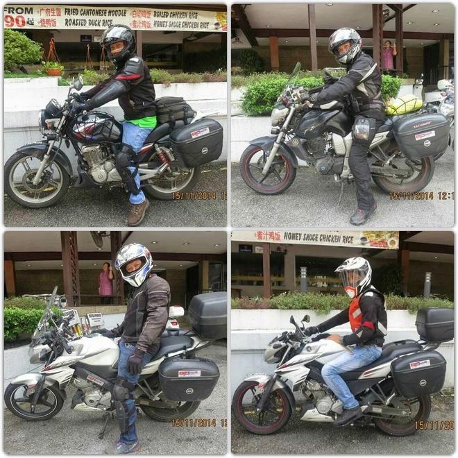 4 chang trai Viet vuot 5.000 km qua Malaysia bang xe may hinh anh 2