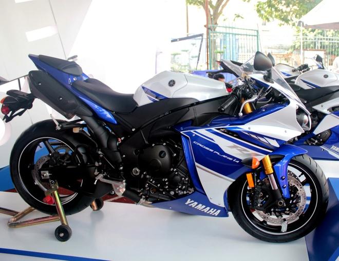 5 xe the thao cua Yamaha dang ban tai Viet Nam hinh anh