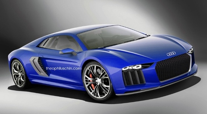 Audi R8 va R8 e-Tron the he moi sap ra mat hinh anh