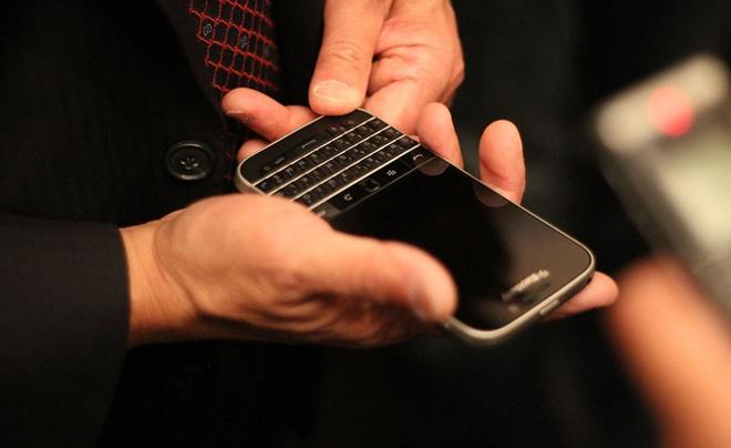 BlackBerry van la bieu tuong cua dang cap hinh anh