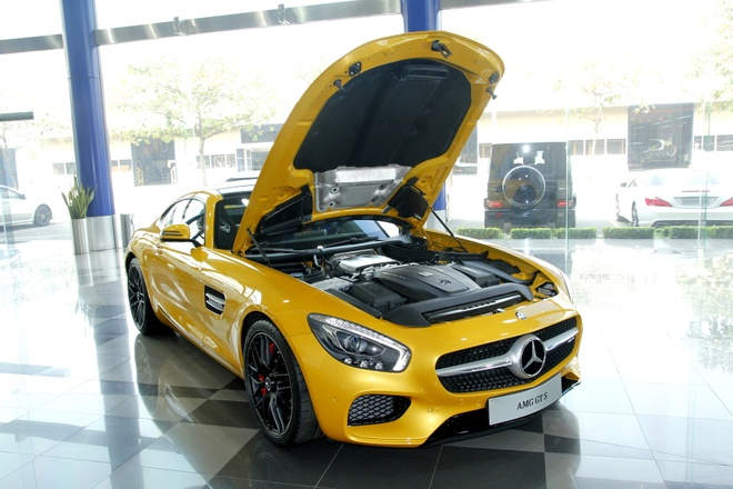 Anh chi tiet sieu xe Mercedes GT S hon 8 ty tai Viet Nam hinh anh