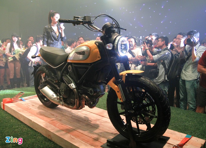 Scrambler - moto re nhat cua Ducati ra mat tai Viet Nam hinh anh 2