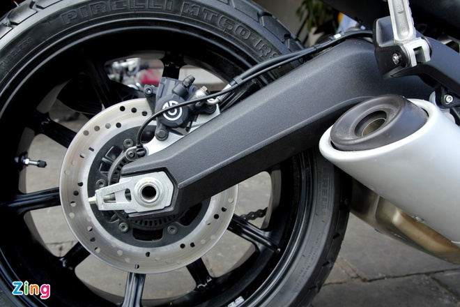 Anh chi tiet Ducati Scrambler doc nhat tai Viet Nam hinh anh 10