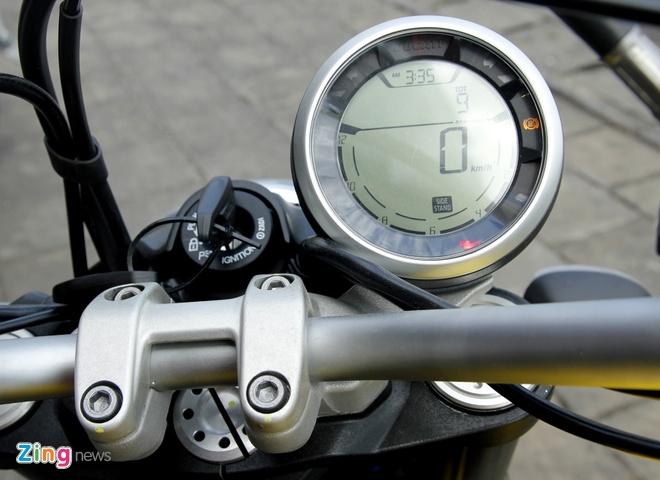 Anh chi tiet Ducati Scrambler doc nhat tai Viet Nam hinh anh 11