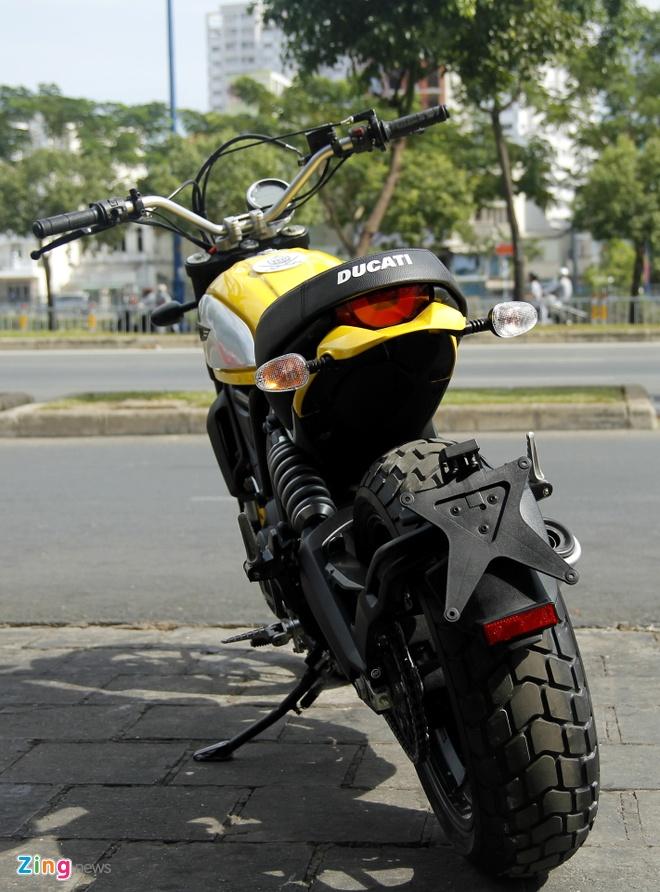 Anh chi tiet Ducati Scrambler doc nhat tai Viet Nam hinh anh 3