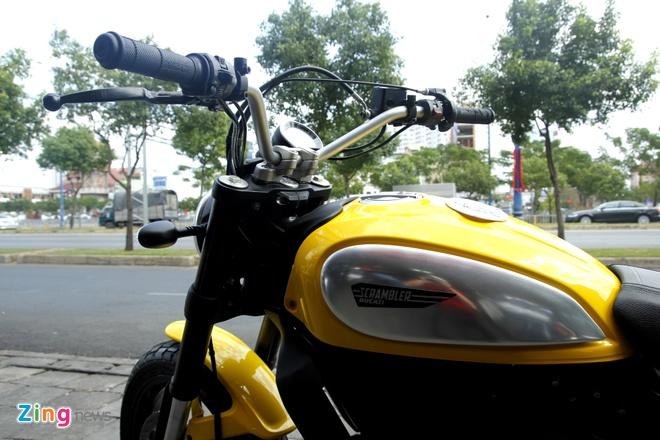 Anh chi tiet Ducati Scrambler doc nhat tai Viet Nam hinh anh 5