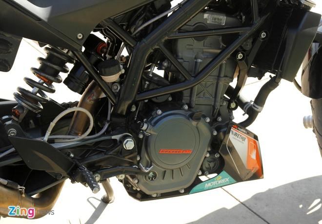 KTM Duke 200 do dac biet de bieu dien mao hiem hinh anh 10