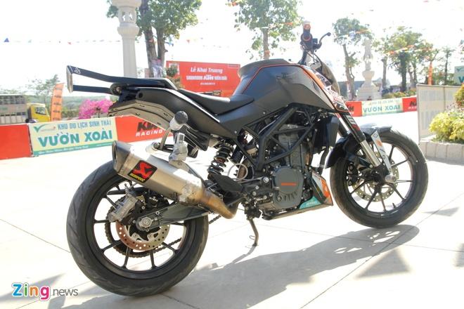 KTM Duke 200 do dac biet de bieu dien mao hiem hinh anh 3