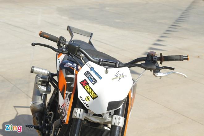 KTM Duke 200 do dac biet de bieu dien mao hiem hinh anh 5