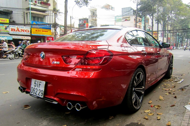 BMW M6 Gran Coupe dau tien ra bien trang o Sai Gon hinh anh