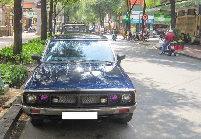 Xe co hang doc Nissan Datsun 240K GT tai Sai Gon hinh anh 1