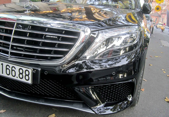 Xe sang Mercedes S63 bien dep, gia 9 ty o Sai Gon hinh anh 6