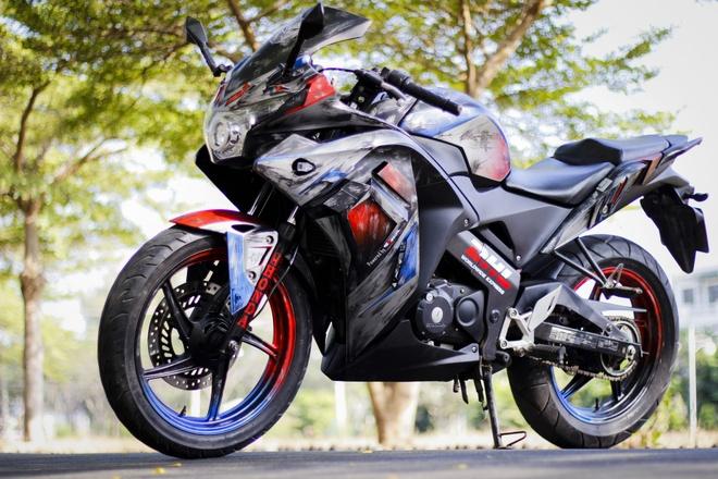 Honda CBR150 do thanh robot bien hinh hinh anh