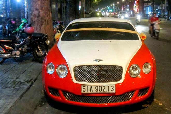 Xe cuoi Bentley mau giong Veyron tai Sai Gon hinh anh