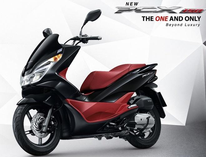 Honda ra mat PCX 150 phien ban nang cap 2015 hinh anh