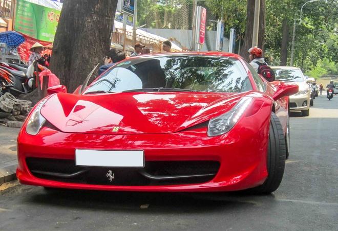 Ferrari 15 ty cua thieu gia Sai thanh xuong pho hinh anh