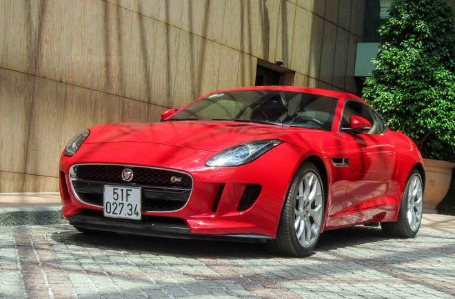 Xe the thao Jaguar F-type S o Sai Gon hinh anh