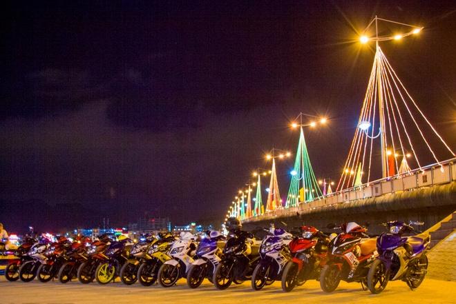 Dan Nouvo cua biker Sai Gon tu hop tai Nha Trang hinh anh