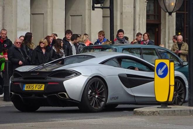 Sieu xe McLaren 570S dau tien xuat hien o London hinh anh