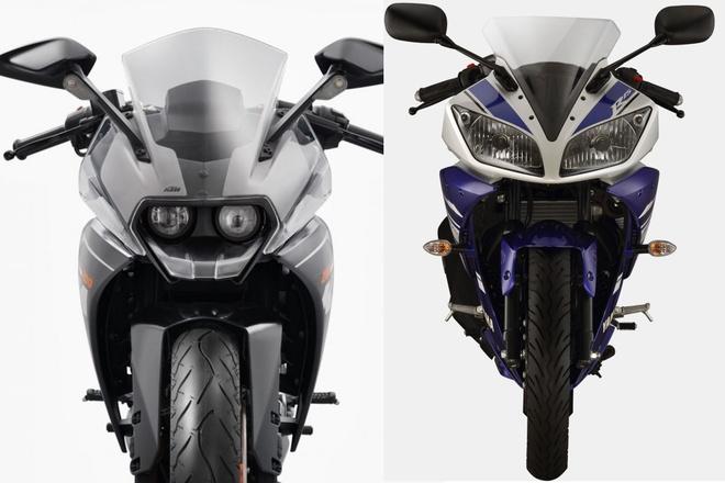 Nen mua Yamaha R15 hay KTM RC200? hinh anh