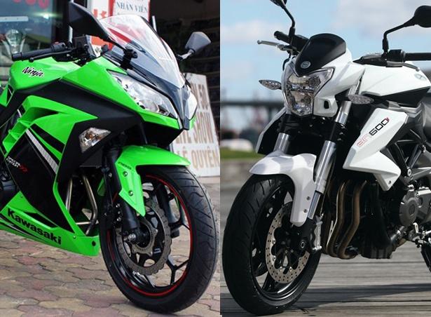 Nen mua Kawasaki Ninja 300 hay Benelli BN600i? hinh anh