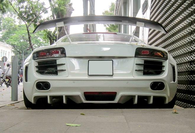 Audi R8 do tang ap doc nhat Sai Gon hinh anh
