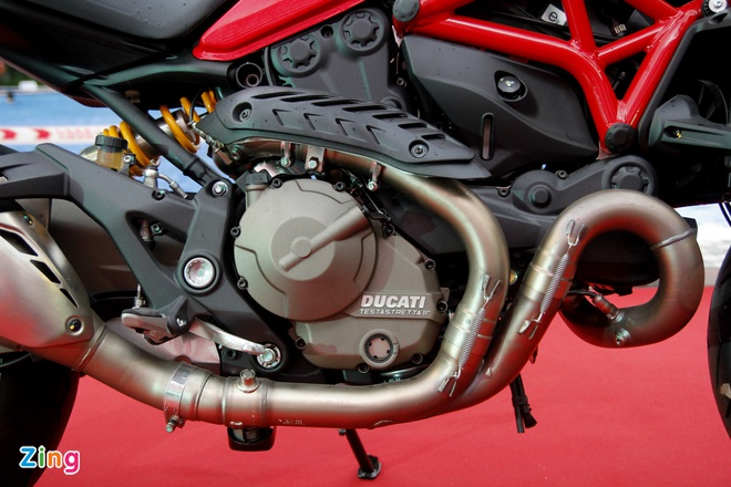 Ducati Monster 821 ra mat o Viet Nam gia tu 400 trieu dong hinh anh 2