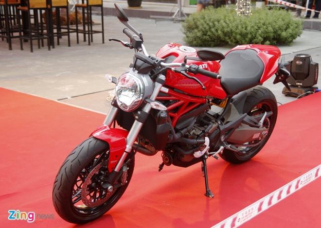 Ducati Monster 821 ra mat o Viet Nam gia tu 400 trieu dong hinh anh 3