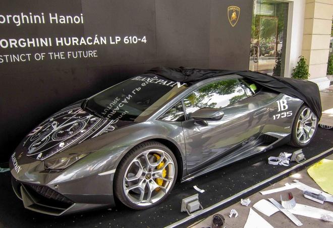 Lamborghini Huracan hang doc duoc chuyen vao Sai Gon hinh anh