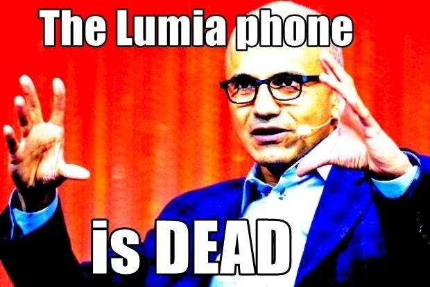 Smartphone Microsoft Lumia da chet? hinh anh