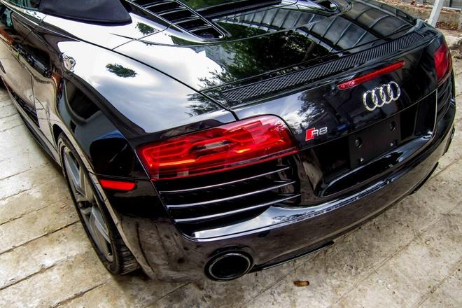 Nghe thu tieng po Audi R8 V10 Spyder tai Viet Nam hinh anh