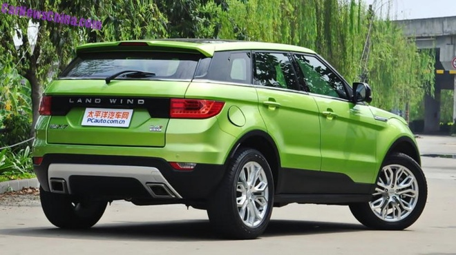 Chi tiet xe Trung Quoc nhai Land Rover gia 21.000 USD hinh anh
