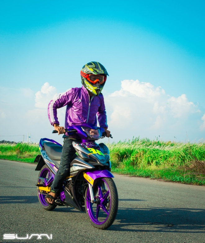 Exciter 135 do dang Honda CBR1000RR do o Sai Gon hinh anh 3