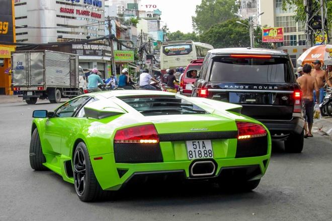 Lamborghini Murcielago LP640 tai xuat tren duong Sai Gon hinh anh