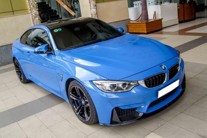 BMW M4 mau doc gia 4 ty dong o Sai Gon hinh anh