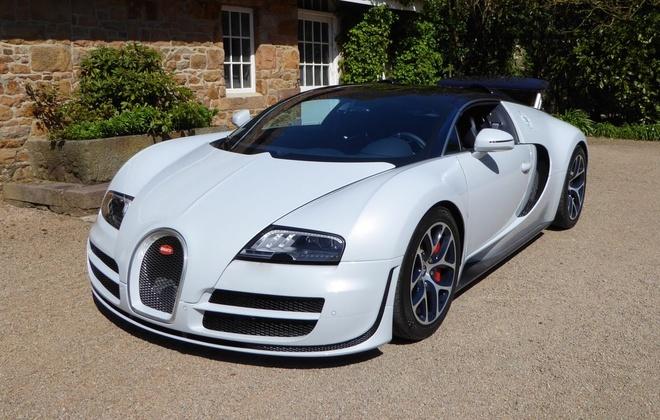 Bugatti Veyron hang doc duoc rao ban gia 2 trieu euro hinh anh