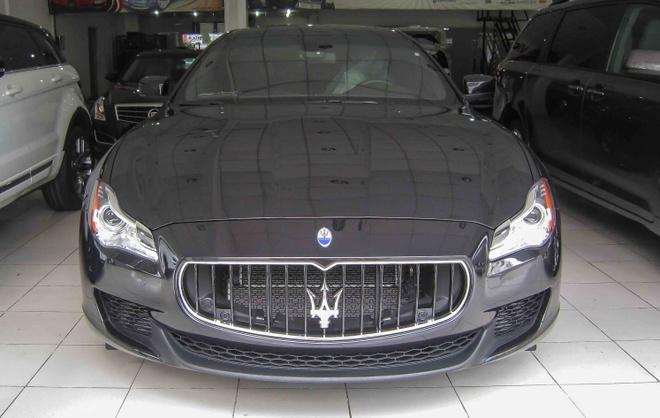 Xe sang Maserati Quattroporte S dau tien ve Viet Nam hinh anh